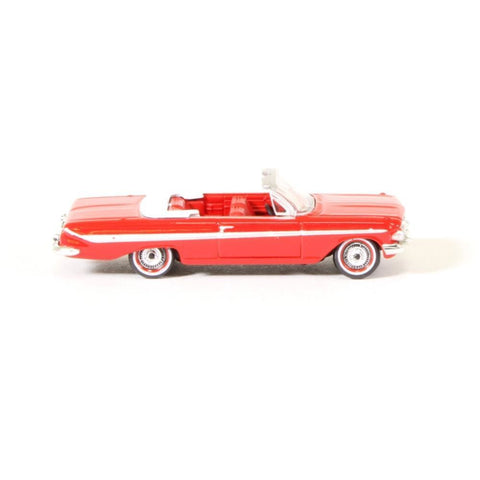 OXFORD 1:87 Chevrolet Imp. Conv. '61 Red/White (87CI61002)