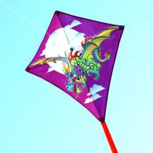 Image of WINDSPEED Dragon Diamond Single String Kite