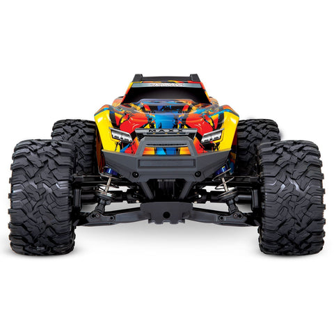 Image of TRAXXAS MAXX 4WD Monster Truck, TQI Traxxas Link Enabled Solar Flare