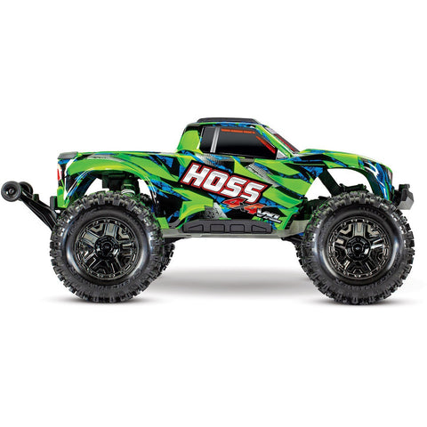 Image of TRAXXAS Hoss 4x4 VXL Monster Truck Green