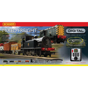 HORNBY DIGITAL MIXED FREIGHT - Hearns Hobbies Melbourne - HORNBY