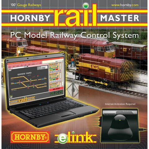 HORNBY DIGITAL E-LINK + RAILMASTER + 4 AMP TRANS - Hearns Hobbies Melbourne - HORNBY