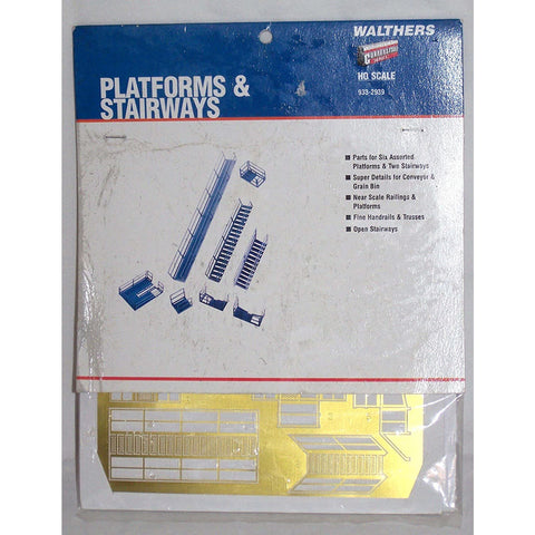 CORNERSTONE HO Platforms & Stairways Photo-Etch Kit