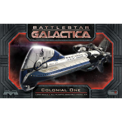 MOEBIUS 945 Battlestar Galactica Colonial One Plastic Model
