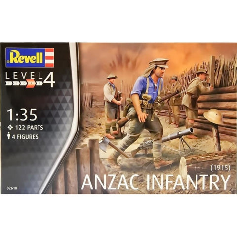Revell ANZAC INFANTRY (1915) 1:35 (DISC)