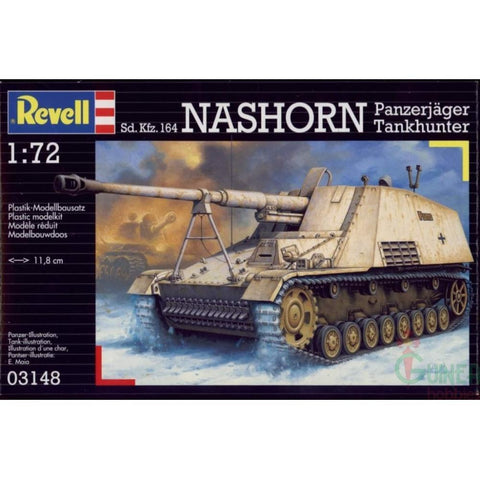 Revell SD.KFZ. 164 NASHORN 1:72 - Hearns Hobbies Melbourne - REVELL KITS