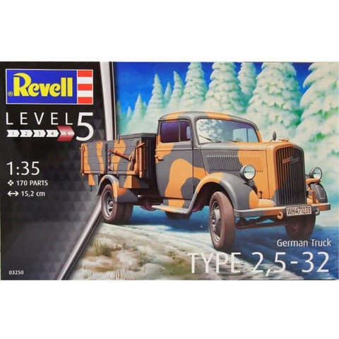 Revell GERMAN TRUCK TYPE 2.5-32 1:35