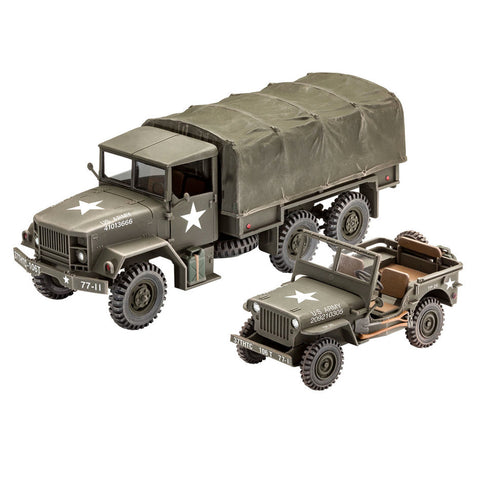 REVELL 1/35 M34 Tactical Truck & Off Road Vehicle