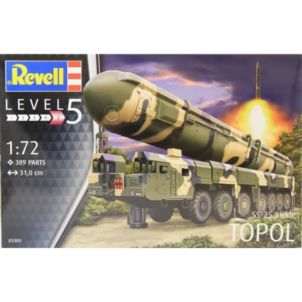 Revell TOPOL (SS-25 SICKLE) 1:72 - Hearns Hobbies Melbourne - REVELL KITS