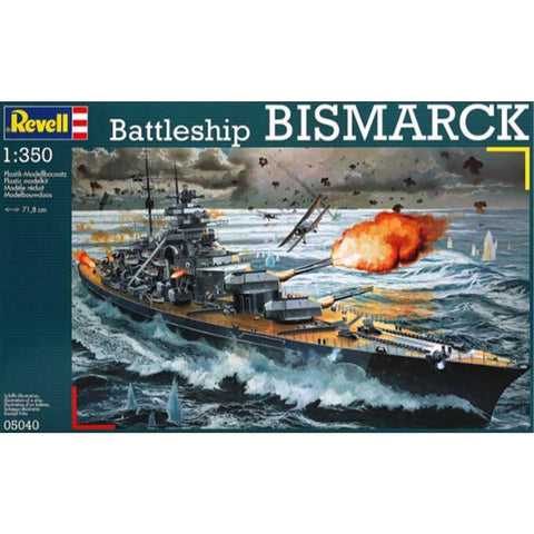 Revell BATTLESHIP BISMARCK 1:350 - Hearns Hobbies Melbourne - REVELL KITS