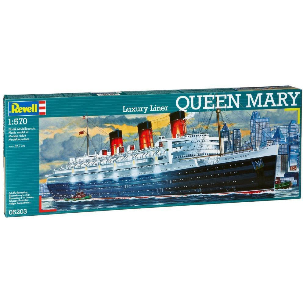 Revell QUEEN MARY 1:570 - Hearns Hobbies Melbourne - REVELL KITS