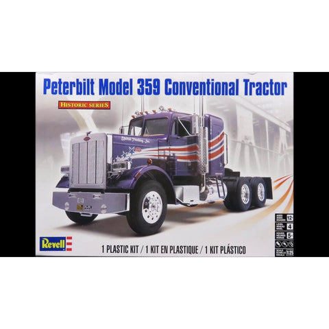 REVELL 1/25 Peterbilt Model 359 Conventional Tractor