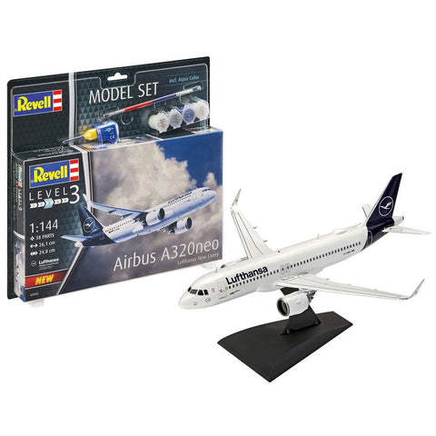 REVELL Airbus A320neo Lufthansa 1/144 Scale(63942)