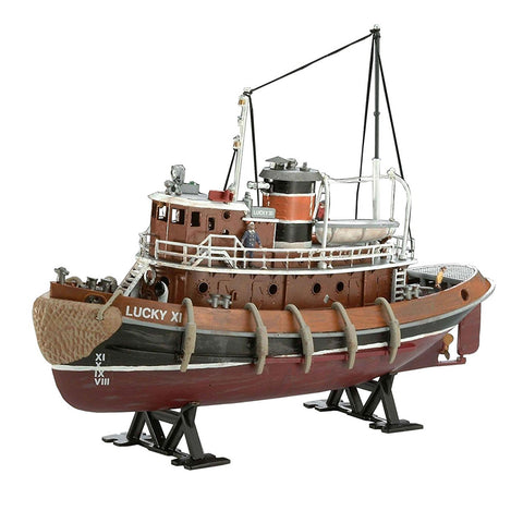 REVELL 1/1108 Model Set Harbour Tug Boat (95-65207)