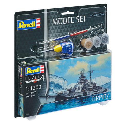 REVELL 1/1200 Model Set Tirpitz(95-65822)