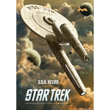MOEBIUS 976 1/1000 Star Trek: USS Kelvin Plastic Model Kit