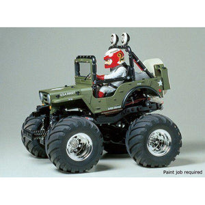 TAMIYA 1/10 Wild Willy 2 2WD Off Road RC Kit