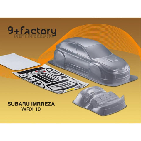 Image of 9FACTORY SUBARU IMRREZA WRX 10 BODY SHELL