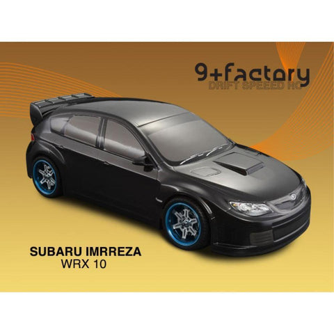 9FACTORY 1/10 Subaru Impreza WRX 10 Carbon Colour Body Shell