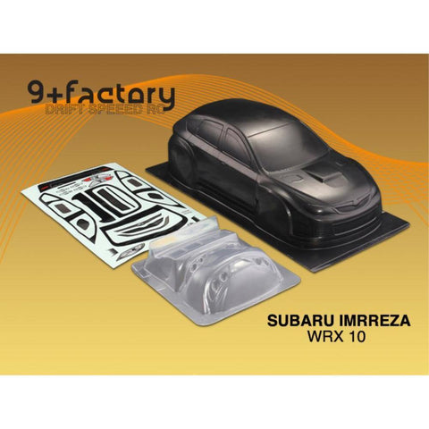 Image of 9FACTORY SUBARU IMRREZA WRX 10 CARBON COLOUR BODY SHELL