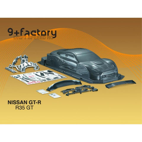 9FACTORY NISSAN GT-R R35 GT BODY SHELL