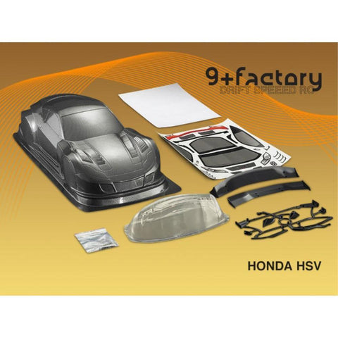 Image of 9FACTORY HONDA HSV CARBON COLOUR BODY SHELL