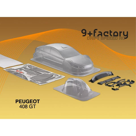 Image of 9FACTORY PEUGEOT 408 GTBODY SHELL