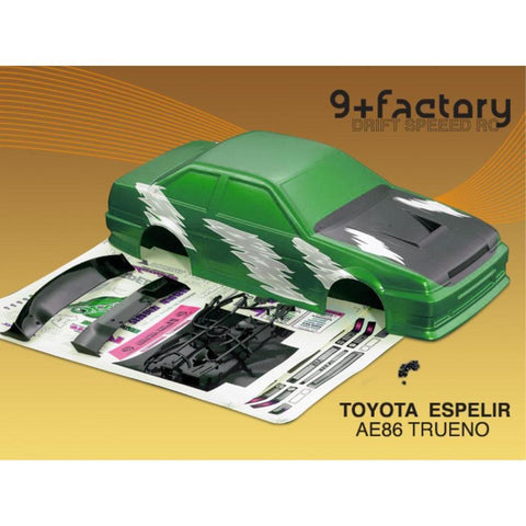 Image of 9FACTORY TOYOTAESPELIR AE86 TRUENO BODY SHELL