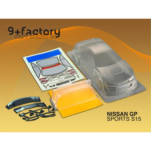 9FACTORY NISSAN GP SPORTS S15 SILVIABODY SHELL
