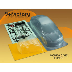 9FACTORY 1/10 Honda Civic Type-R Body Shell
