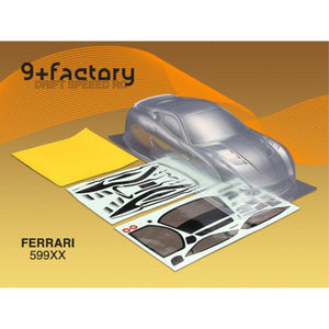 9FACTORY FERRARI 599XX BODY SHELL