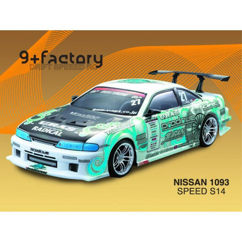 9FACTORY NISSAN 1093 SPEED S14 BODY SHELL