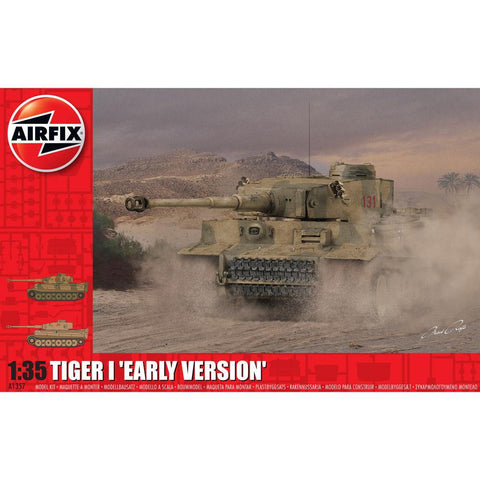 AIRFIX 1/35 TIGER 1 EARLY PRODUCTION VERSION