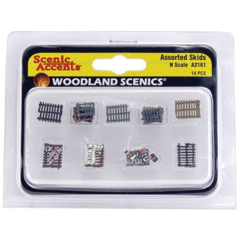 Image of WOODLAND SCENICS N Assorted Skids