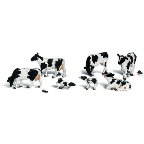 Image of WOODLAND SCENICS N Holstein Cows
