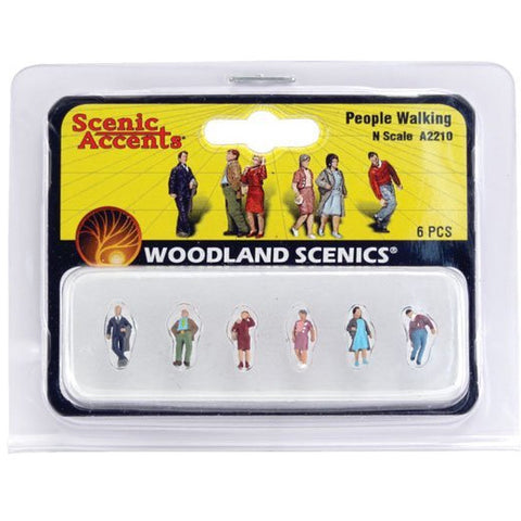 Image of WOODLAND SCENICS N People Walking