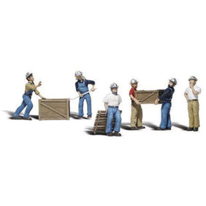 WOODLAND SCENICS O Dock Workers
