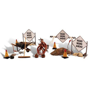 WOODLANDS O Scale Road Crew Details