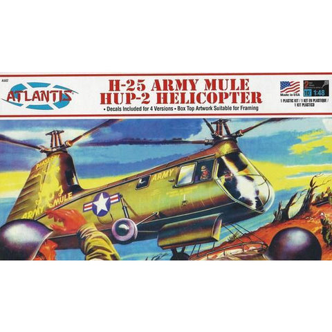 AMC 1/48 Army Mule Helicopter Plastic Kit
