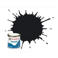 HUMBROL 21 - Black Gloss 14ml