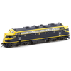 AUSCISION HO B60 VR - Blue & Gold Original 'Harold W. Clapp' DCC Sound Equipped