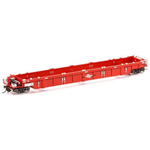 AUSCISION HO - PWWY Well Wagon SCT Red - 4 Car Pack (ACM-SW