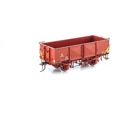 AUSCISION HO - GY Wagon VR Wagon Red (No Tarp) - 6 Car Pack