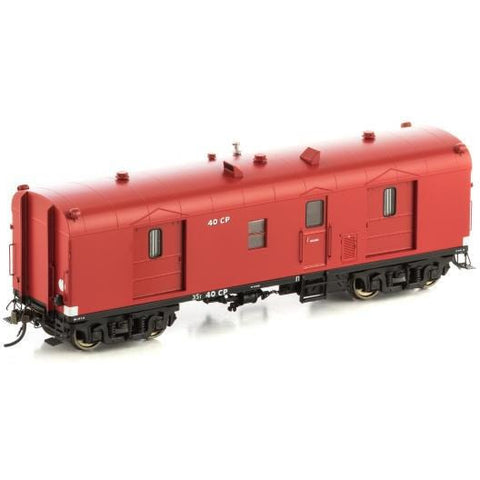 AUSCISION HO - CP Guards Van VR Passenger Car Red - 2 Car P