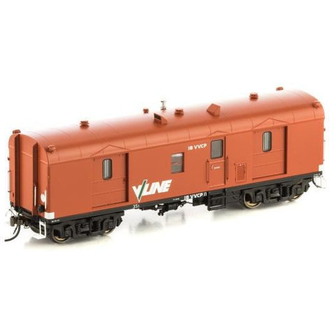 AUSCISION HO - VVCP Guards Van VR Wagon Red w/V/Line Logo -