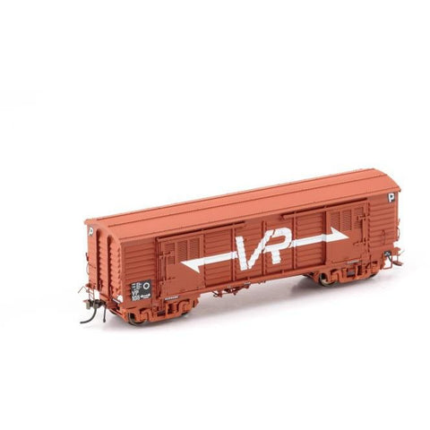 AUSCISION VP Louvre Van VR Wagon Red w/Large VR Logo - 2 Ca