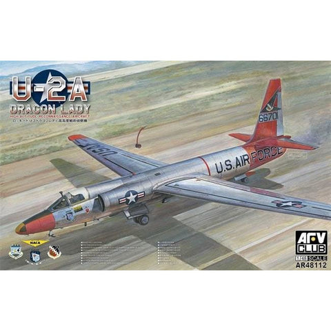 AFV CLUB 1/48 U-2A DRAGON LADY PLASTIC MODEL KIT (AFV-AR48112)