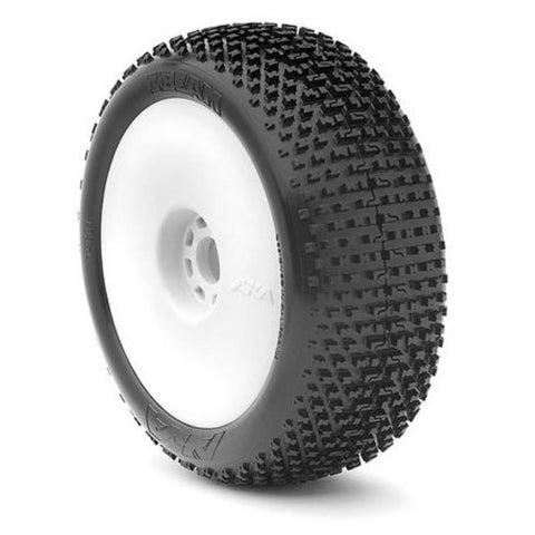 AKA 1/8 Buggy I-BEAM (Soft) EVO Wheel Pre-Mounted White