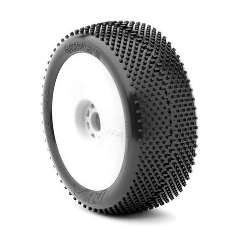 AKA 1/8 Buggy GRIDIRON II (Super Soft) EVO Wheel Pre-Mounte