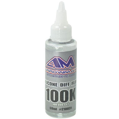 ARROWMAX Silicone Diff Fluid 59ml 100.000cst(AM-210031)